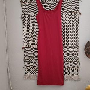 Women's black Sleeveless Tank Top Long Maxi Dress